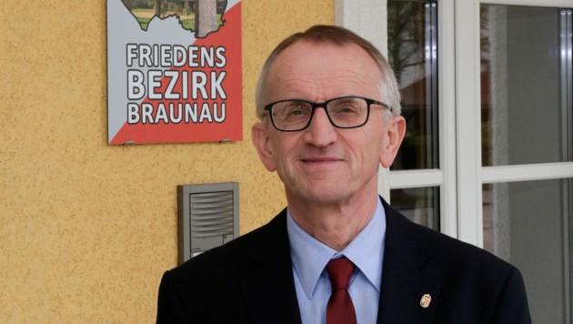 Mag. Dr. Georg Wojak - seit 2008 Bezirkshauptmann von Braunau (Bild: Pressefoto Scharinger © Daniel Scharinger)