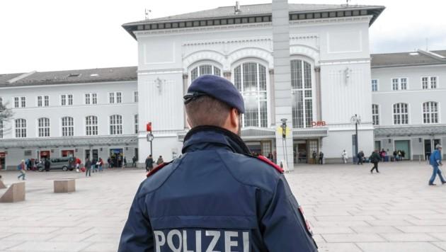 Die Taschendiebin wurde beim Bahnhof erwischt. (Bild: Markus Tschepp)