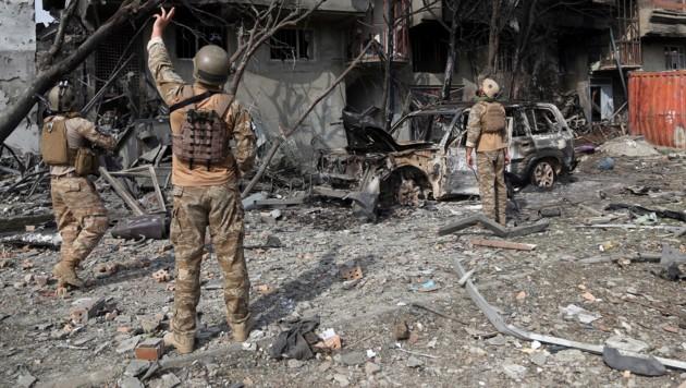 Einer von zahlreichen Anschlägen in Afghanistan (Bild: AP)