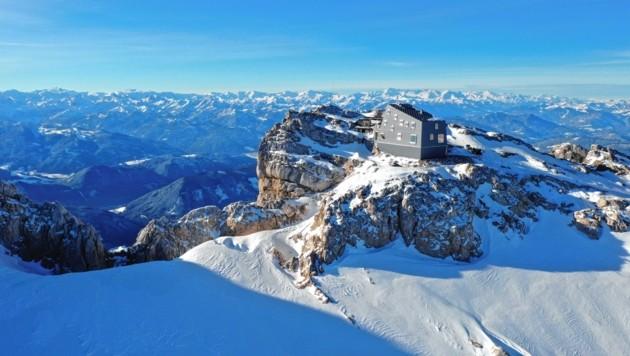 Die Seethalerhütte am Dachstein (Bild: Herbert Raffalt)