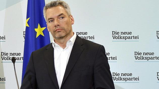 Karl Nehammer (Bild: APA/Herbert Neubauer)