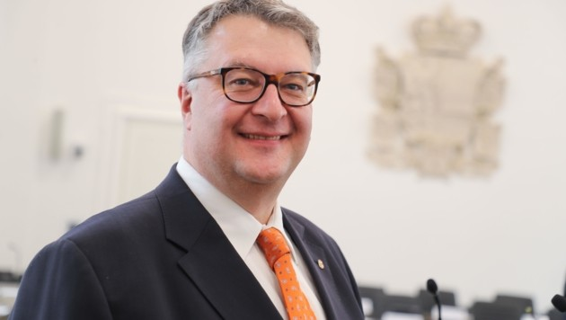 Ludwig Hillinger zog den Ärger der Regierungsspitze auf sich. (Bild: Franz Neumayr)