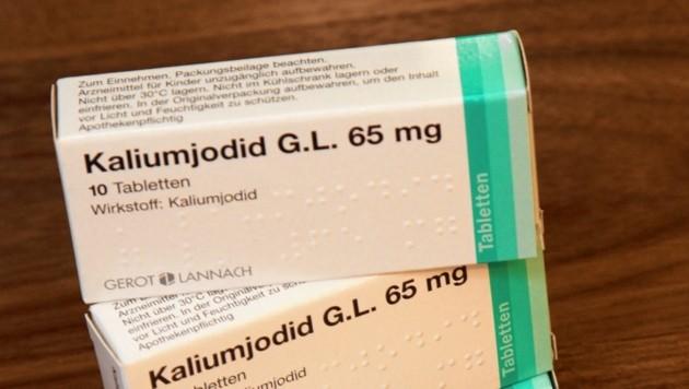 Personen ab 40 Jahren rät das Ministerium wegen Nebenwirkungen von der Einnahme von Jodtabletten ab. (Bild: Peter Tomschi)