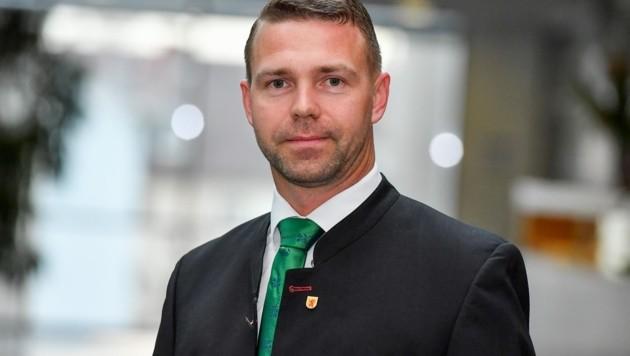 FPÖ-Stadtrat Peter Hametner. (Bild: Dostal Harald)