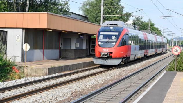 Der Ausbau der Weststrecke sorgt in Leonding seit Jahren für Diskussionen. (Bild: Harald Dostal)