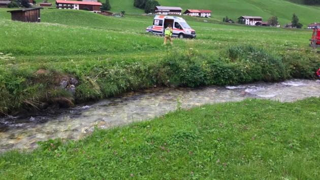 In Obernberg am Brenner wurde im Bach eine leblose Person gefunden. (Bild: zoom.tirol)