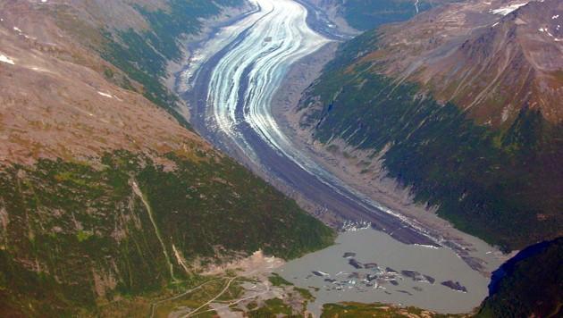 Der Valdez-Gletscher in Alaska (Bild: Wikipedia)