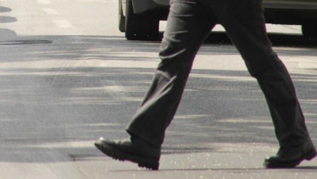 Der Fußgänger konnte selbstständig das UKH aufsuchen (Bild: KRONEN ZEITUNG)
