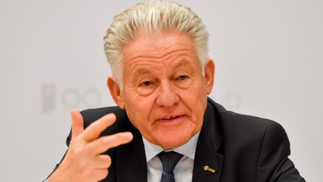 Seniorenbund-Obmann Josef Pühringer möchte erreichen, dass Arbeiten in der Pension sich wieder lohnt (Bild: © Harald Dostal)