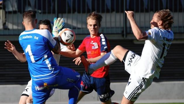 Für Hallein ging auch der Start in die neue Spielzeit in die Hose. (Bild: Andreas Tröster)