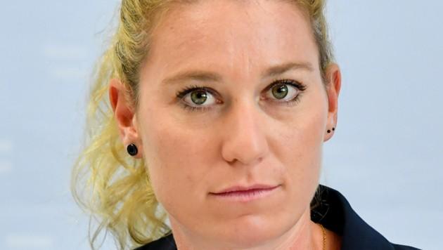 Erfolgreiche Ermittlerin: Simone Wögerbauer (30) vom Stadtpolizeikommando Linz (Bild: © Harald Dostal)