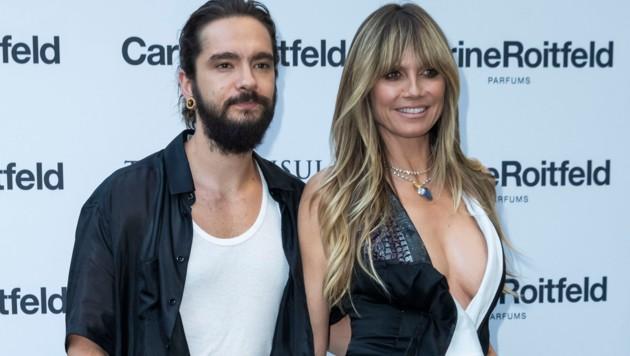 Heidi Klum mit Tom Kaulitz (Bild: www.PPS.at)