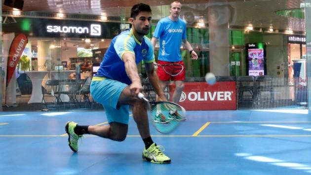 Aqeel Rehman steht auf Madeira bereits im Viertelfinale. (Bild: ANDREAS TROESTER)