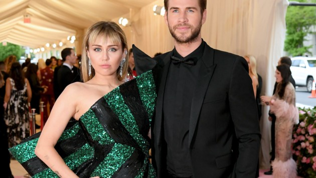 Miley Cyrus und Liam Hemsworth (Bild: 2019 Getty Images)