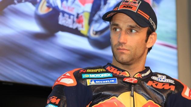 Johann Zarco während seiner KTM-Zeit (Bild: GEPA)