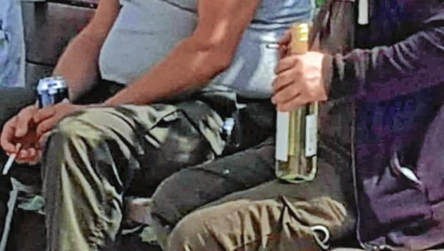 Alkoholiker-Szene breitet sich bis zum KH Nord aus