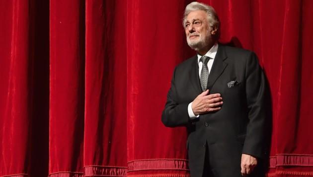 Dirigent Placido Domingo im Wiener Musikverein (Bild: AFP)