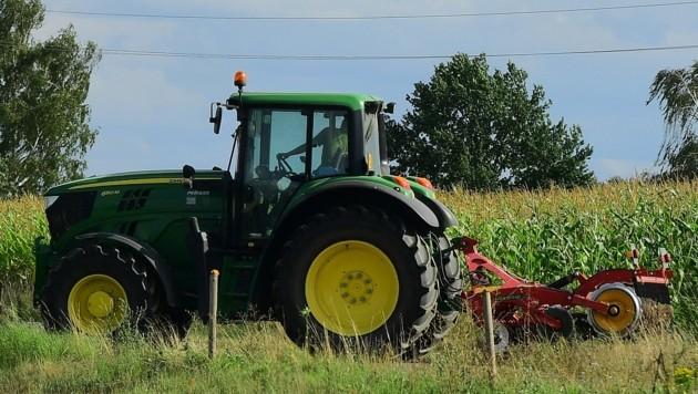 Ein Traktor wurde gestohlen (Achtung, Symbolbild!). (Bild: P. Huber)