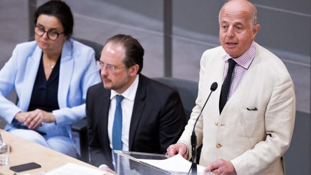 Justizminister Jabloner (Bild: APA/GEORG HOCHMUTH)
