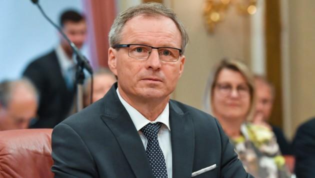 Wolfgang Klinger verliert ein Ressort, behält aber den Ortschef-Job. (Bild: © Harald Dostal)