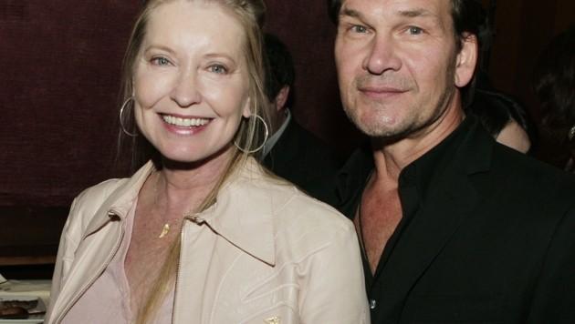 Patrick Swayze mit Gattin Lisa Niemi (Bild: 2007 Getty Images)