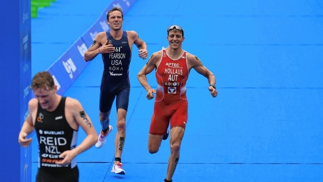 Lukas Hollaus sammelte wertvolle Punkte fürs Olympia-Ticket. (Bild: AFP)