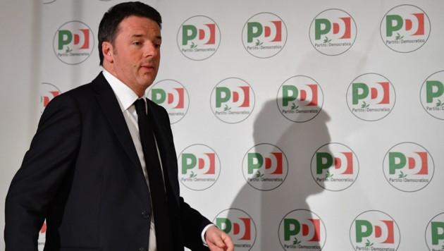 Ex-Premier Matteo Renzi (Bild: AFP)