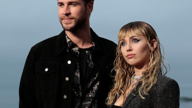 Liam Hemsworth und Miley Cyrus (Bild: AFP)