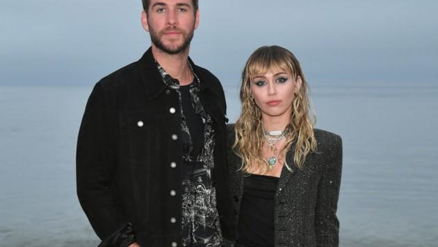 Liam Hemsworth und Miley Cyrus (Bild: 2019 Getty Images)