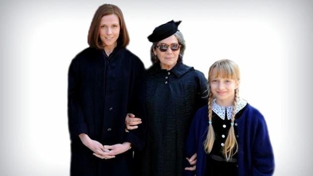Filmplakat von links: Franziska Weisz (Hannas Mutter), Hannelore Elsner (Hannas Großmutter), Nike Seitz (Hanna) (Bild: Thimfilm)