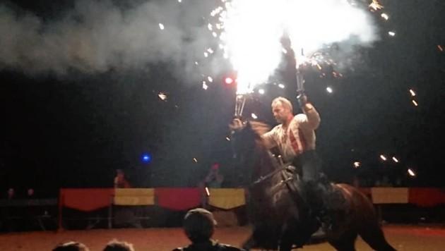 Die Feuershows faszinieren das Publikum schon seit Jahren. (Bild: Maid of R)