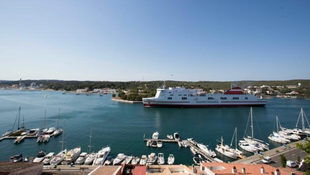 Der Hafen von Menorca