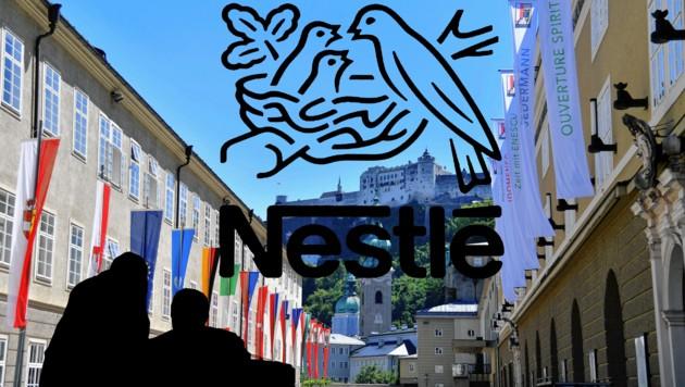 Nestlé verabschiedet sich als Sponsor von den Salzburger Festspielen (Bild: Bildkombi: EPA, Tschepp)