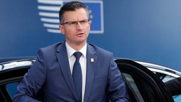 Sloweniens Ministerpräsident Marjan Sarec (Bild: APA/AFP/POOL/GEOFFROY VAN DER HASSELT)