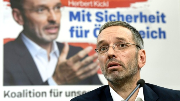 Herbert Kickl (Bild: APA/HANS KLAUS TECHT)