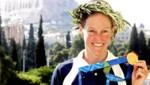 Kate Allen (AUT), Medaille, Akropolis (Bild: GEPA pictures)