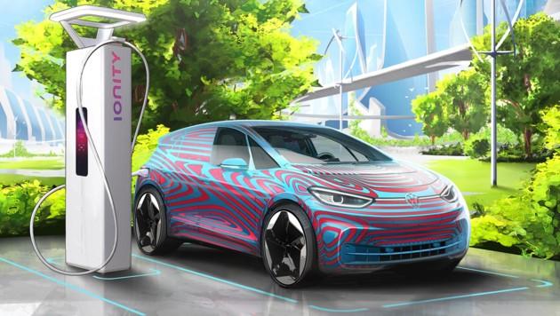 VWs Zukunft ist elektrisch - hier der VW ID.3 (Bild: Volkswagen)