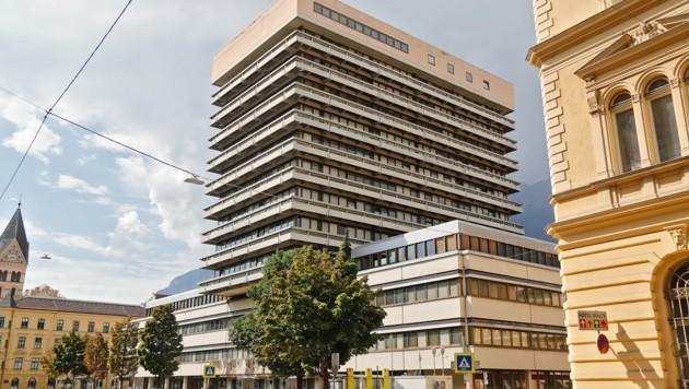 Das Tiroler Landesgericht in Innsbruck (Bild: Christof Birbaumer)