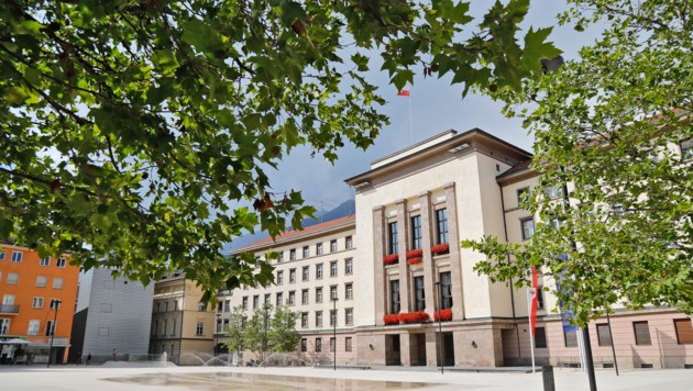 Das Landhaus in Innsbruck. (Bild: Christof Birbaumer / Kronenzeitung)