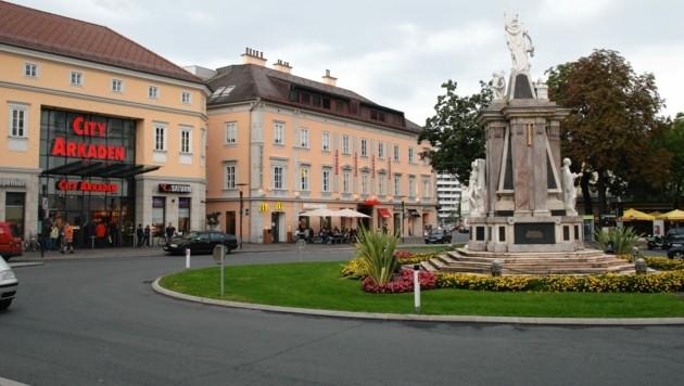 Der Klagenfurter Heuplatz soll neu gestaltet werden. (Bild: Kronen Zeitung)