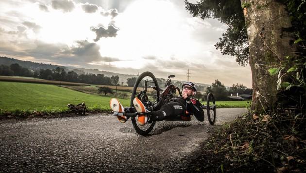 Wolfgang Timischl erbringt mit dem Handbike sportliche Höchstleistungen. (Bild: Sport's Life)