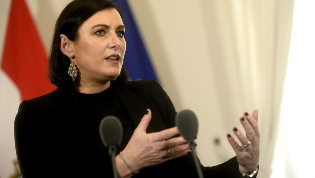 Elisabeth Köstinger (ÖVP) (Bild: APA/HERBERT PFARRHOFER)