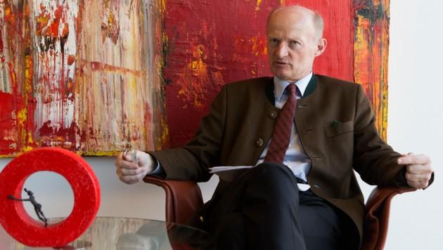 """""""Wir gehen davon aus, dass die Verfahren unsere Position bestätigen"""", sagt Oberbank-Generaldirektor Gasselsberger. (Bild: FOTO LUI)"""