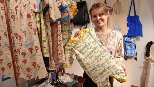 Auch der Nachwuchs will fesch - und fair - aus der Wäsche schauen: Babykleidung wird im Zerum gerne gekauft.
