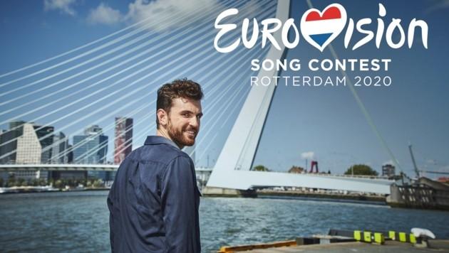Der Song Contest hätte 2020 in Rotterdam stattfinden sollen. (Bild: twitter.com/Eurovision)