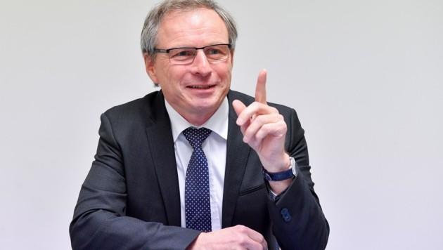 """FPÖ-Politiker Wolfgang Klinger ist seit 100 Tagen """"Sicherheitslandesrat"""" in Oberösterreich. (Bild: Dostal Harald)"""