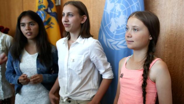 Trio gegen Klimakrise: Greta & die starken Mädchen
