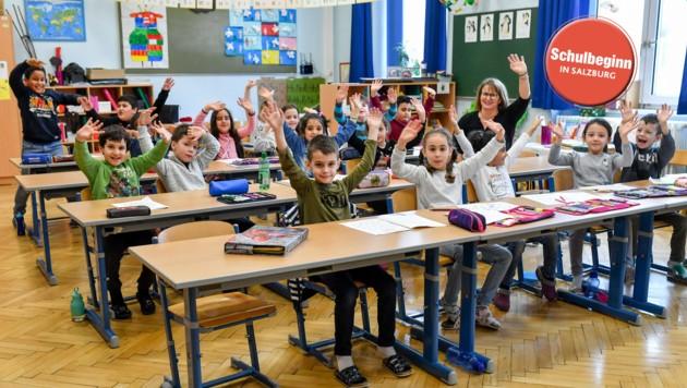 In den Volksschulen gibt es ab diesem Jahr wieder für alle Altersgruppen Ziffernnoten (Bild: Harald Dostal)