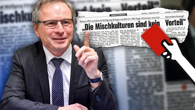 Der oberösterreichische FPÖ-Landesrat Wolfgang Klinger