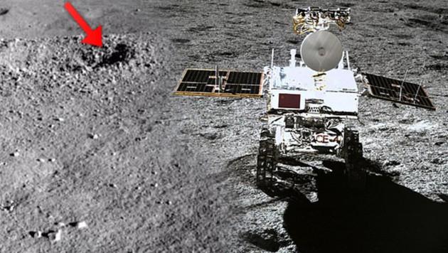 (Bild: China Lunar Exploration Project, krone.at-Grafik)